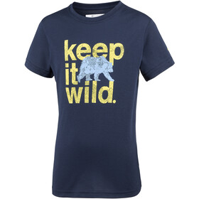 Columbia Mini Ridge Tee Boys Collegiate Navy